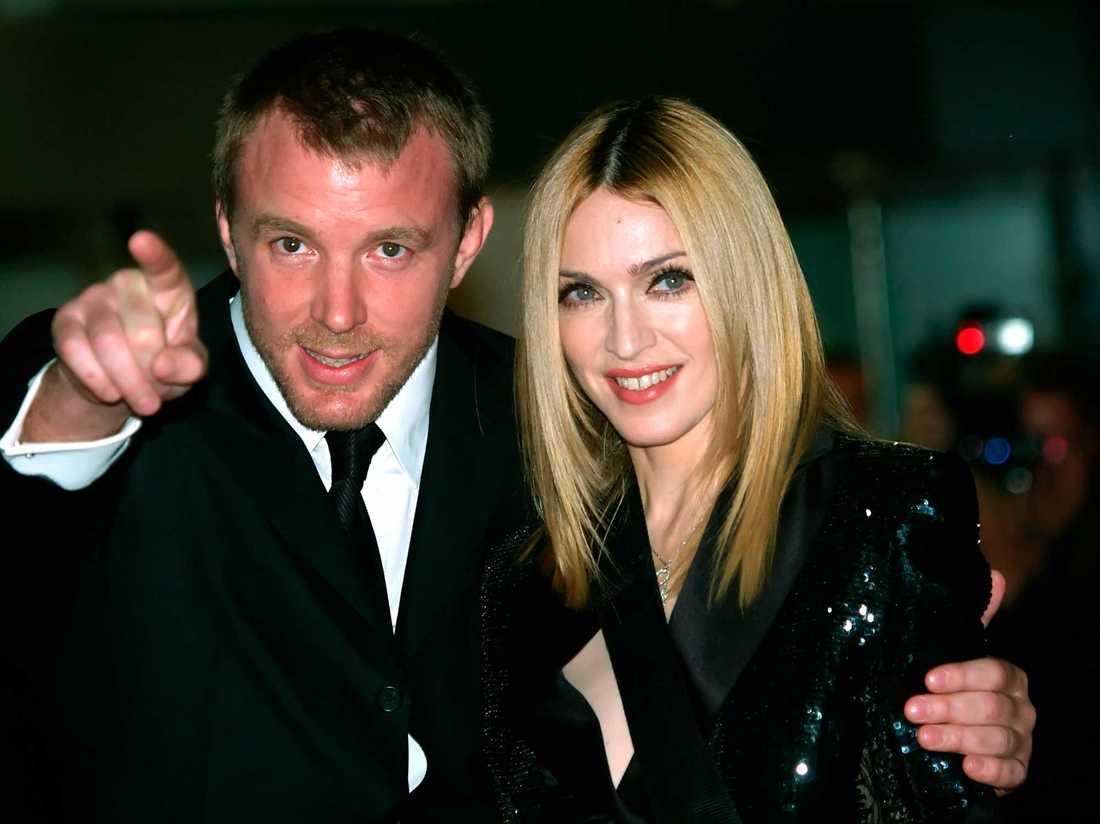 Guy Ritchie och Madonna.