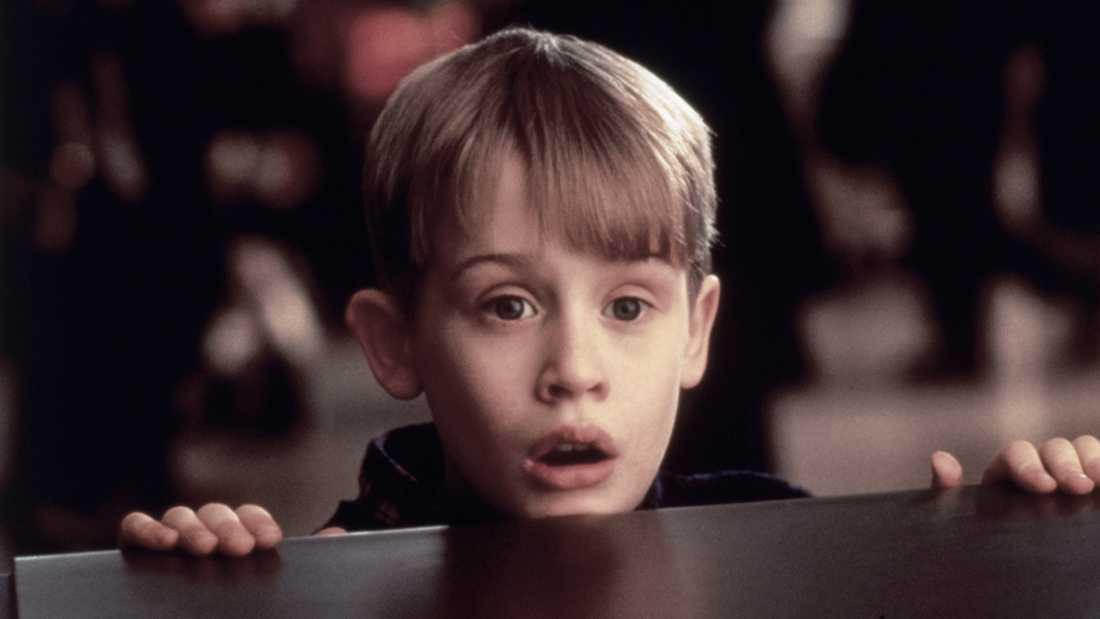 """Macaulay Culkin i """"Ensam hemma""""."""