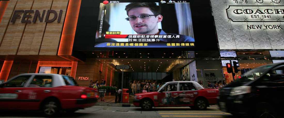 Snowden ska ha tagit sin tillflykt till Hongkong strax efter att det uppdagades att han var läckan bakom den stora NSA-skandalen.