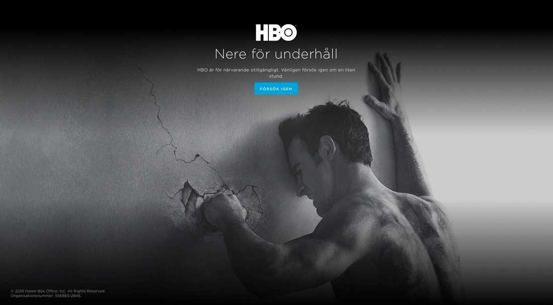 """HBO:s svenska användare snuvades på """"Game of thrones""""-premiären"""
