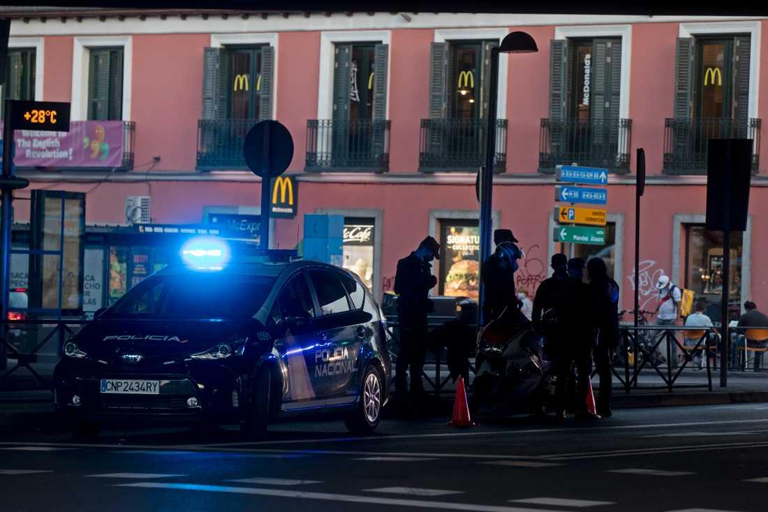 Spansk polis har gripit medlemmar i en svensk kriminell liga. Arkivbild.