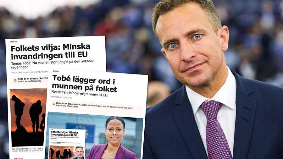 Jag är beredd att samtala med alla som vill komma bort från dagens låsningar. Men låt mig vara rak: MP behöver hållas borta från den framtida invandringspolitiken i både Sverige och Europa, skriver Tomas Tobé.