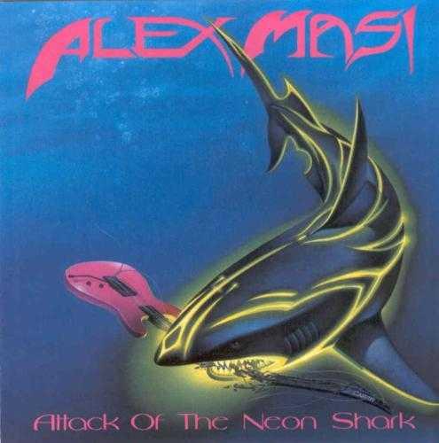 Alex Masi - Attack Of The Neon Shark  Hajar det är läskiga grejor det vet ju alla. Men det finns något läskigare - neonhajar!
