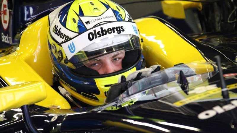 Marcus Ericsson startade i första ledet vid det andra racet i Valencia.