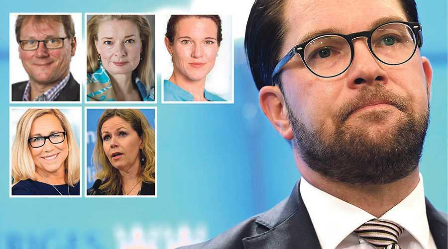 Socialdemokraterna är på inget sätt vårt förstahandsval, men Sverige behöver en regering som klarar att driva igenom sin politik i riksdagen och som inte tvingas förhålla sig till en högerpopulistisk och främlingsfientlig agenda, skriver Jonas Andersson, Lotta Edholm, Lina Nordquist, Helene Odenjung och Cecilia Wikström.
