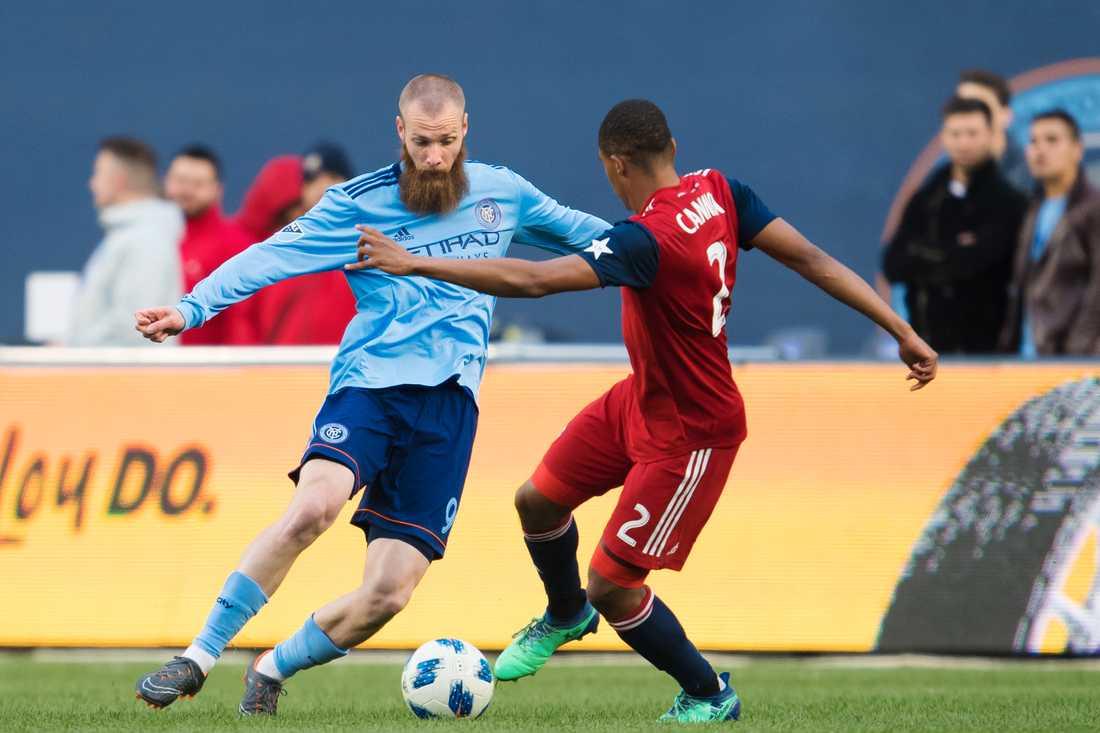 Jo Inge Berget i MLS och New York City.