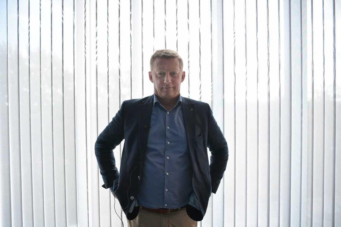 Säpochefen Klas Friberg varnar för ökat våld från högerextrema.