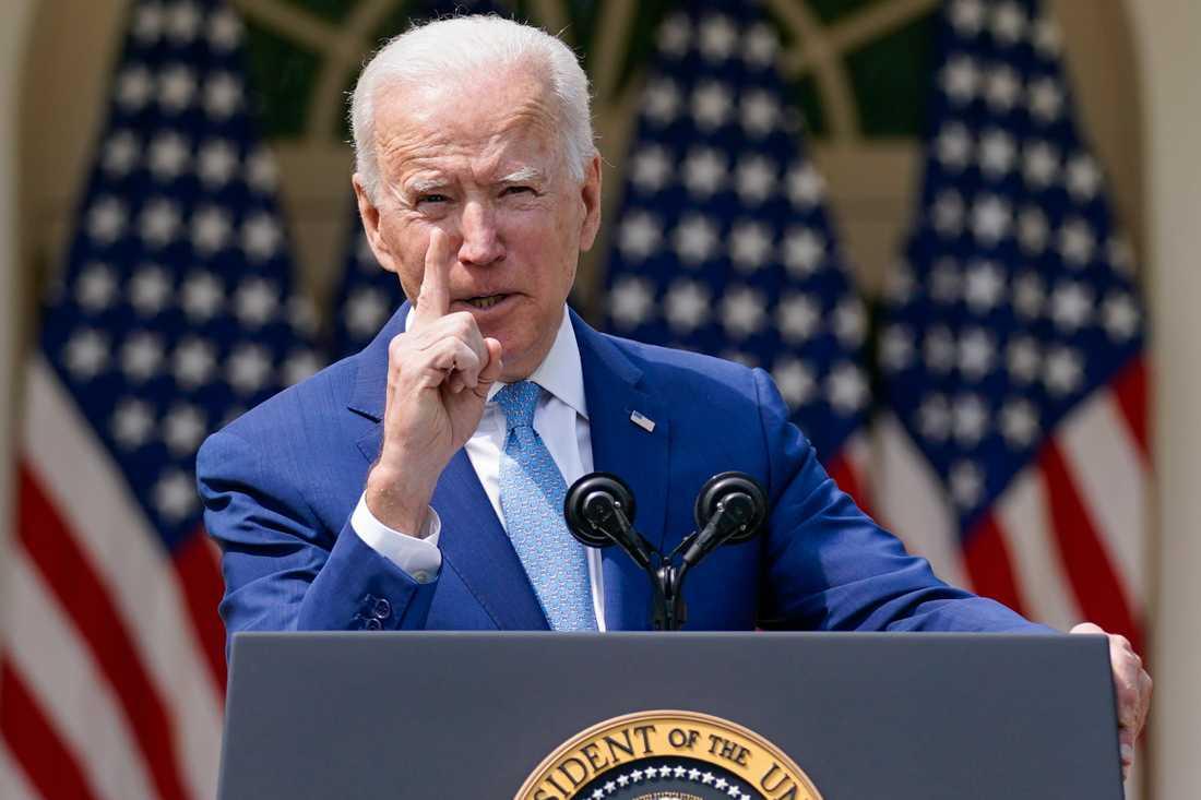 Joe Biden presenterar nya förslag för att stoppa vapenvåld i USA.
