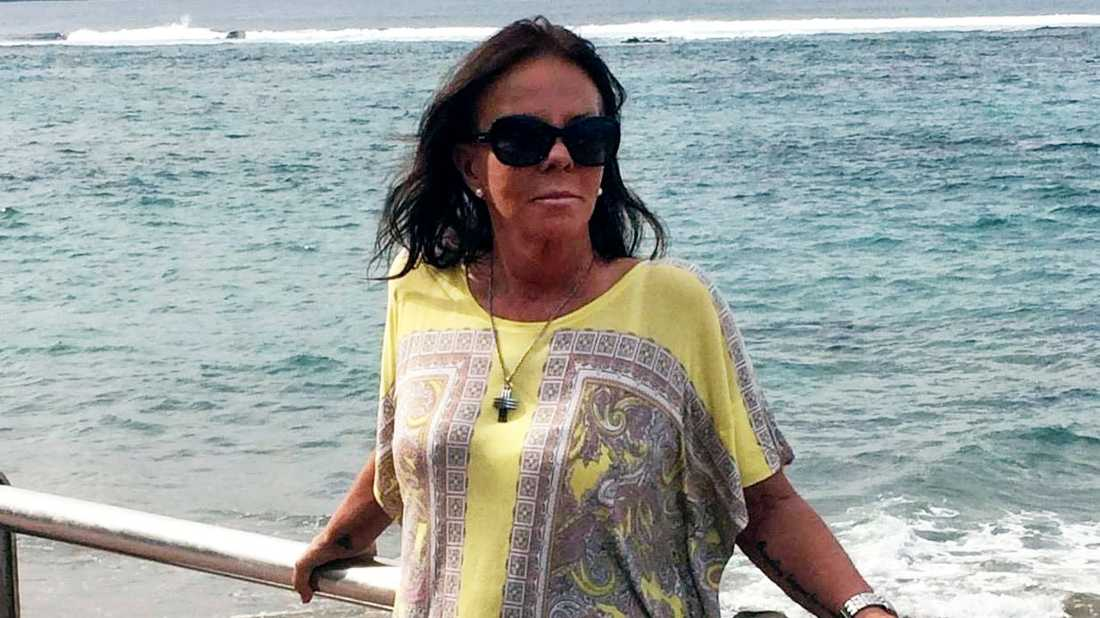 Lena Mellström, 63, väntar fortfarande på att få tillbaka sina pengar för en resa som SAS ställde in i mars förra året.