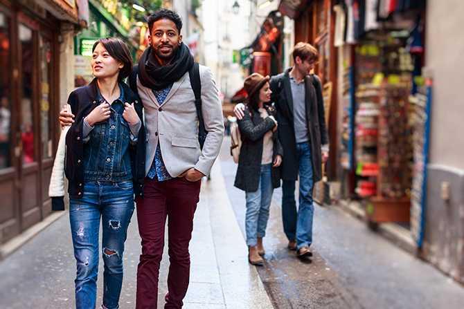 Underbara Paris uppfyller alla förväntningar.