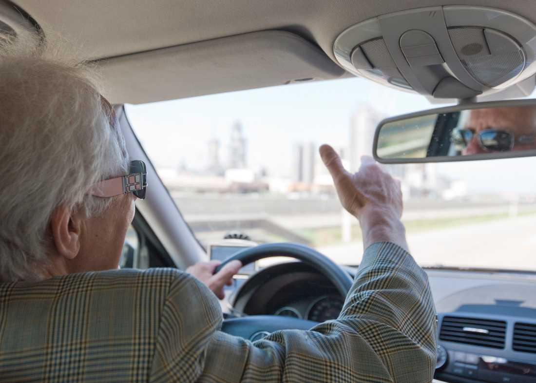 Hade kört utan körkort sedan 1970-talet. Mannen på bilden har inget med händelsen att göra.