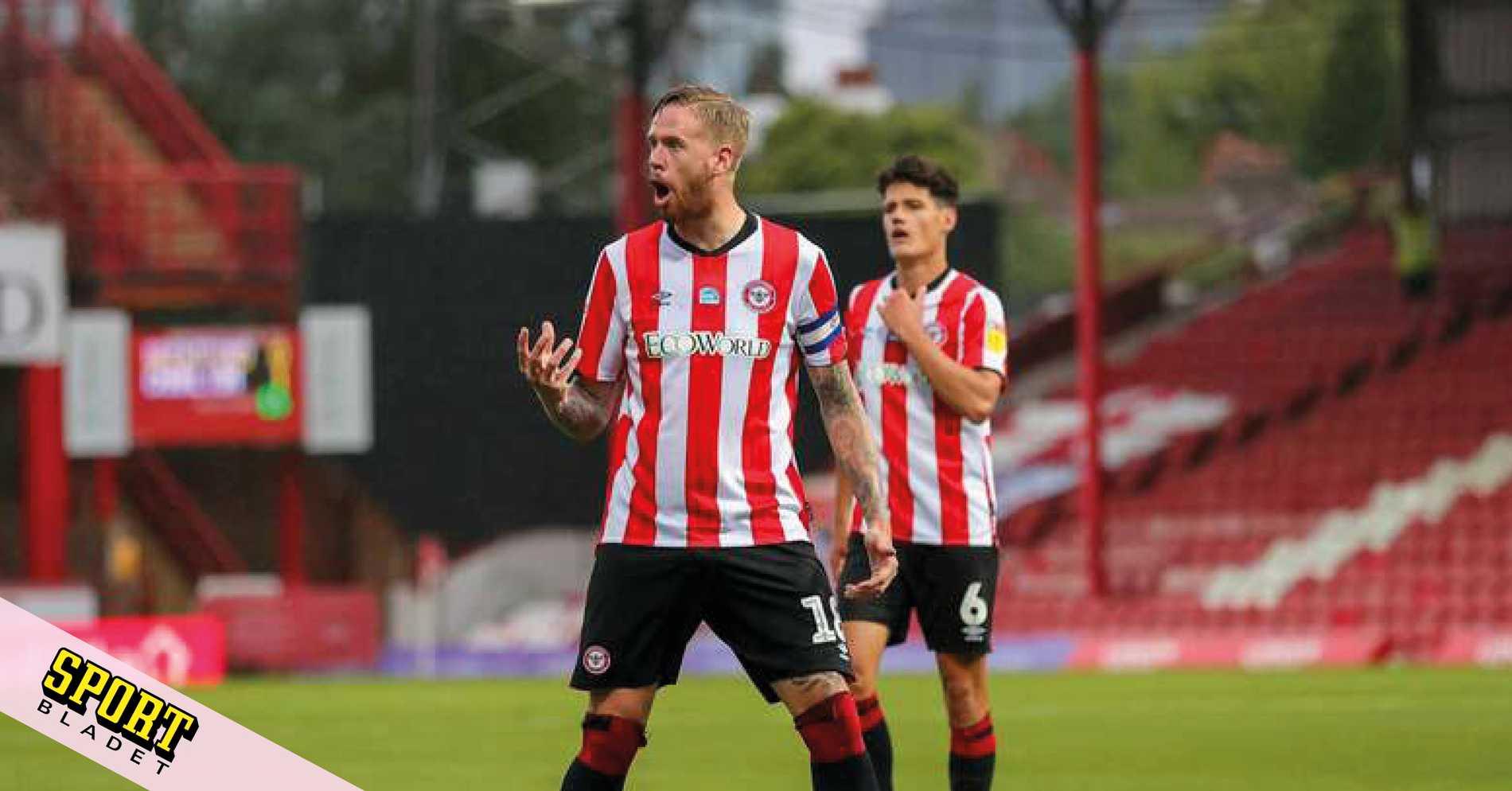 Brentford två poäng från direktplats