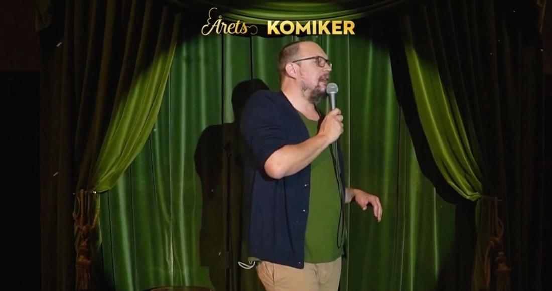 Jonatan Unge kammade hem pris för årets komiker.