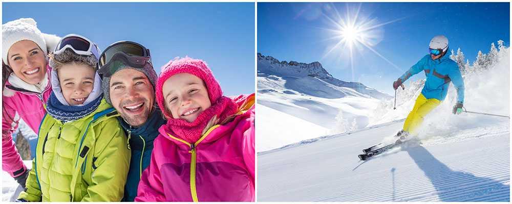 Österrike och Åre är svenskarnas skidfavoriter.