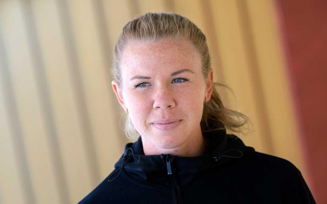 Jessica Samuelsson, FC Rosengård, har inte stort hopp om att bli uttagen till VM. Arkivbild