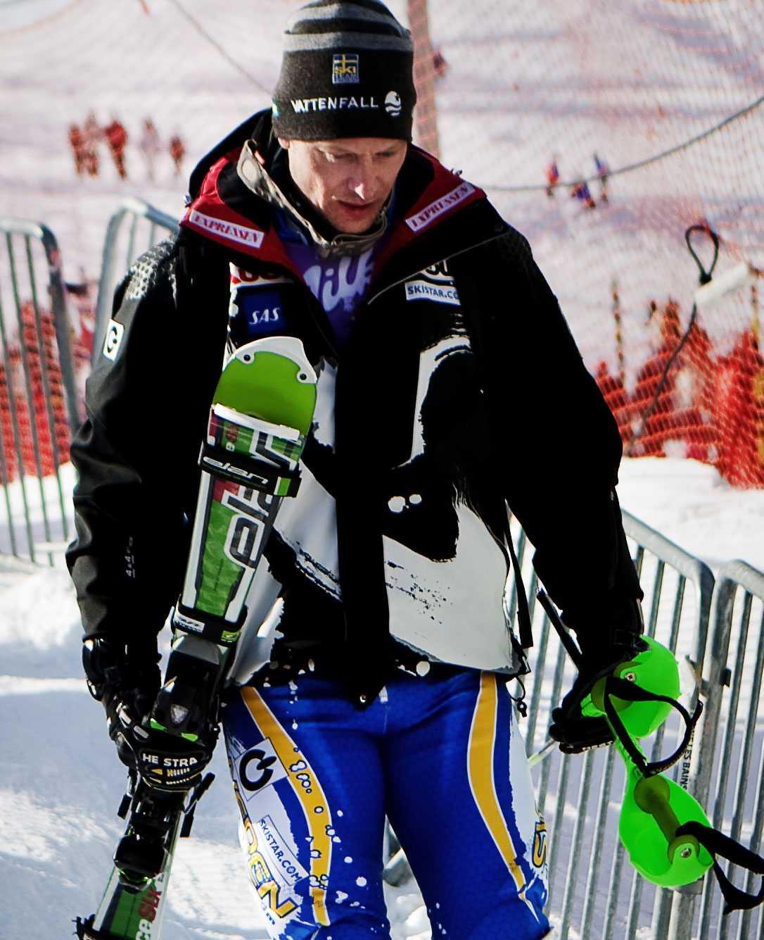 Johan Brolenius lämnar VM rejält besviken.