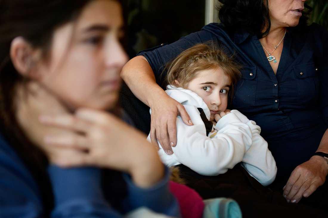 9-åriga Leyla Jasharli.