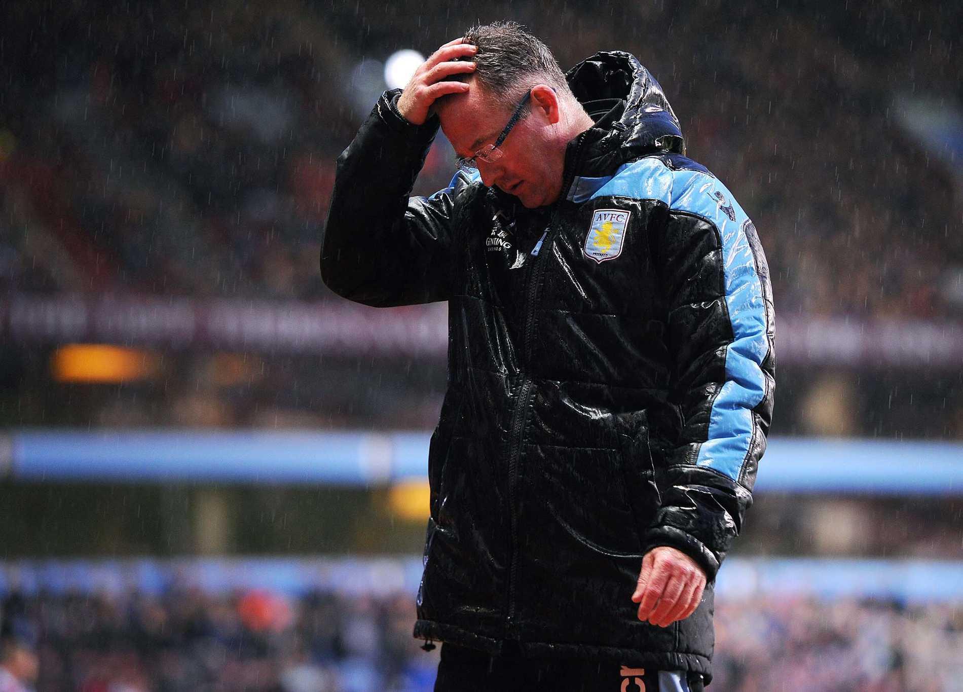 Paul Lambert, Aston Villa, blir näste tränare att få lämna sitt jobb i Premier League