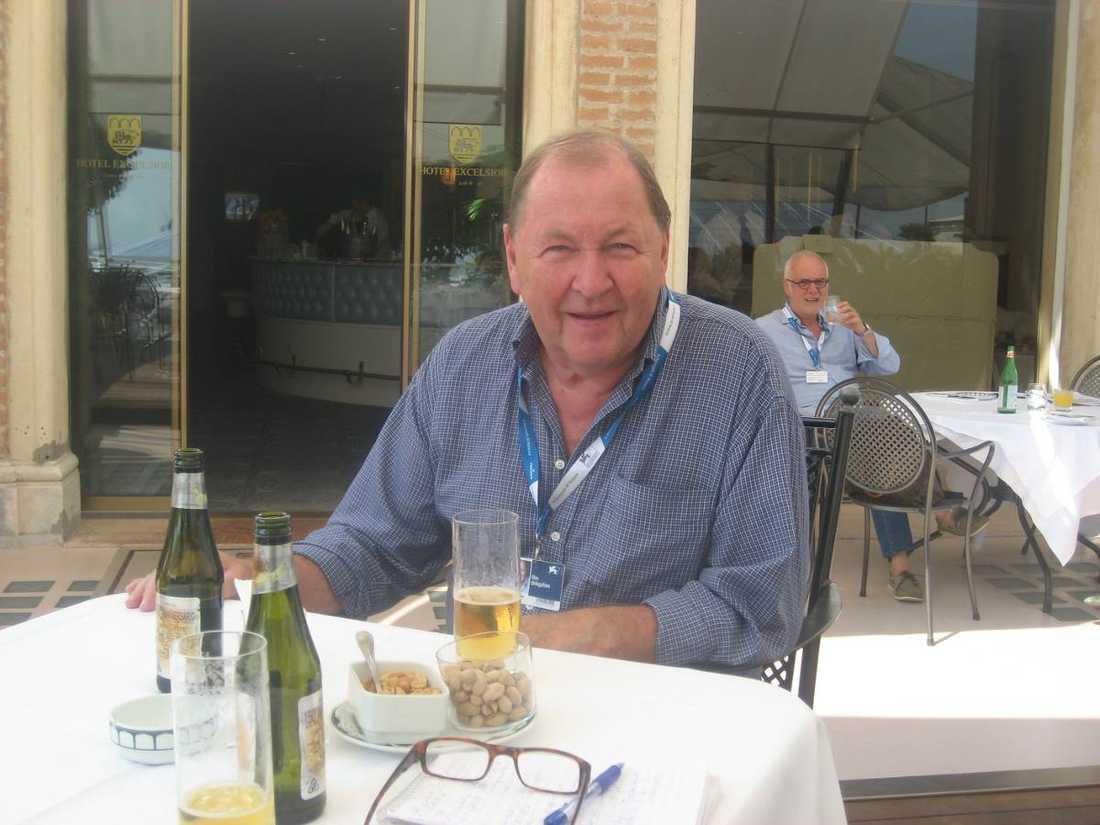 Nöjesbladet träffade Roy Andersson på Hotel Excelsior.