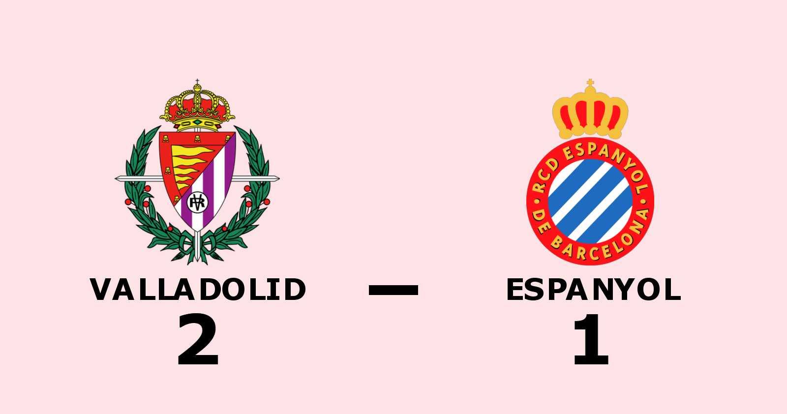 Stark andra halvlek räckte för Valladolid mot Espanyol