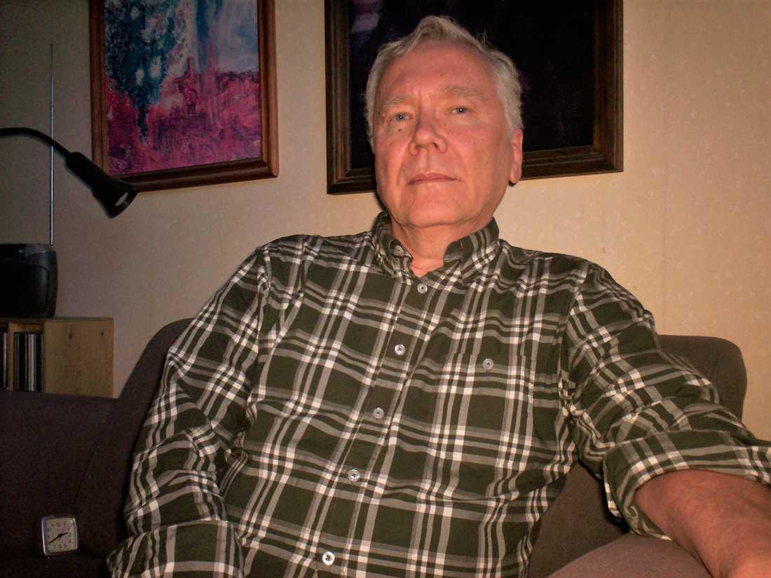 Jan Lindholm, pensionär.