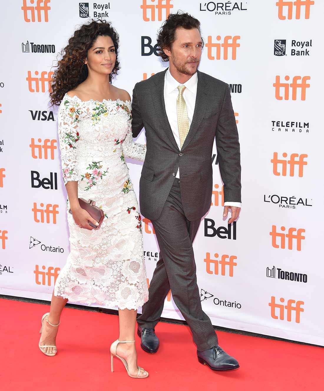 Matthew McConaughey och kärleken Camilla Alves.