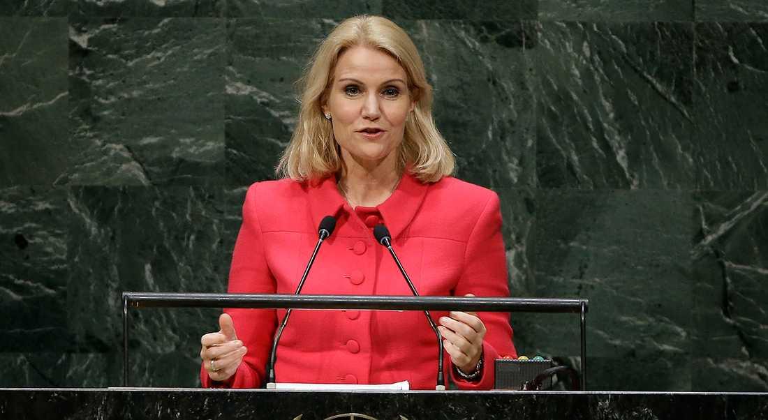 Helle Thorning-Schmidt.