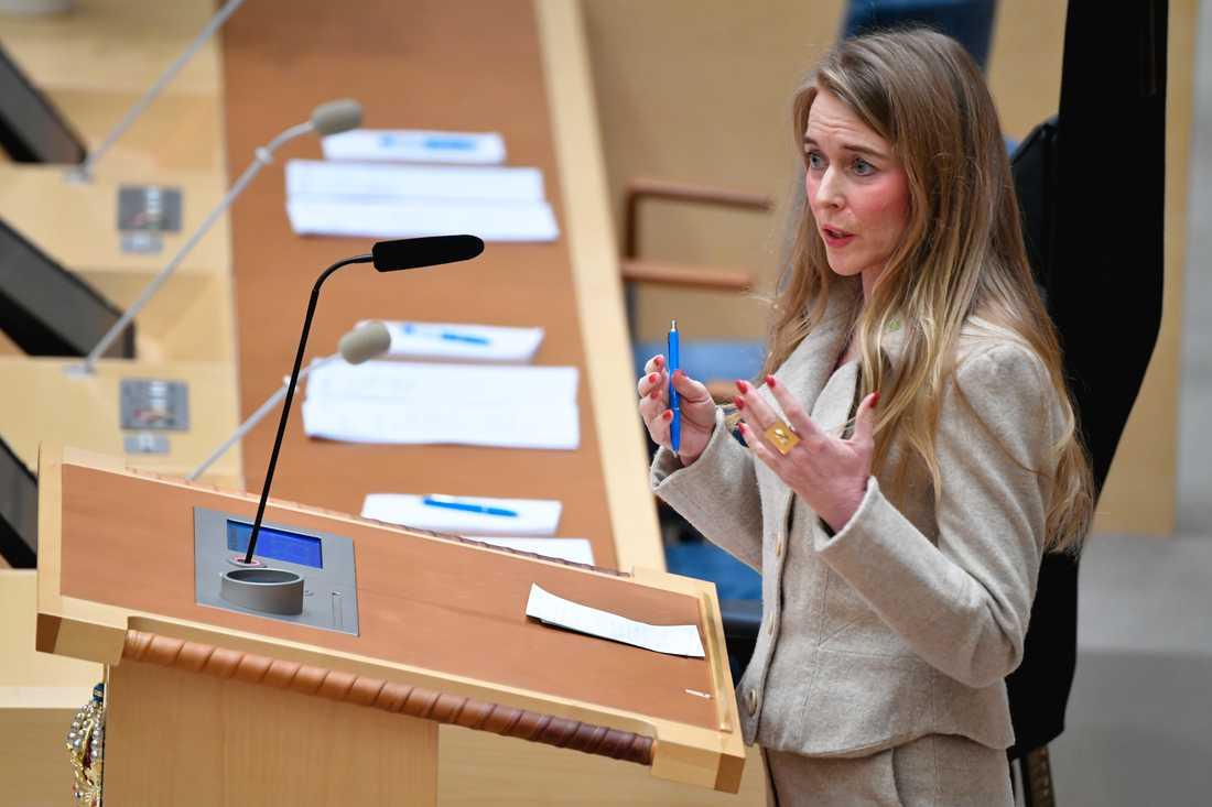 Riksdagsledamoten Pernilla Stålhammar (MP). Arkivbild.