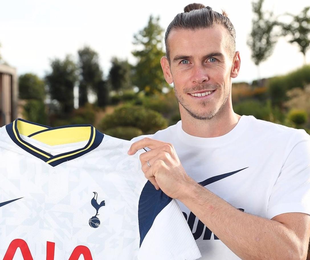 Gareth Bale tillbaka i Tottenham-tröjan.