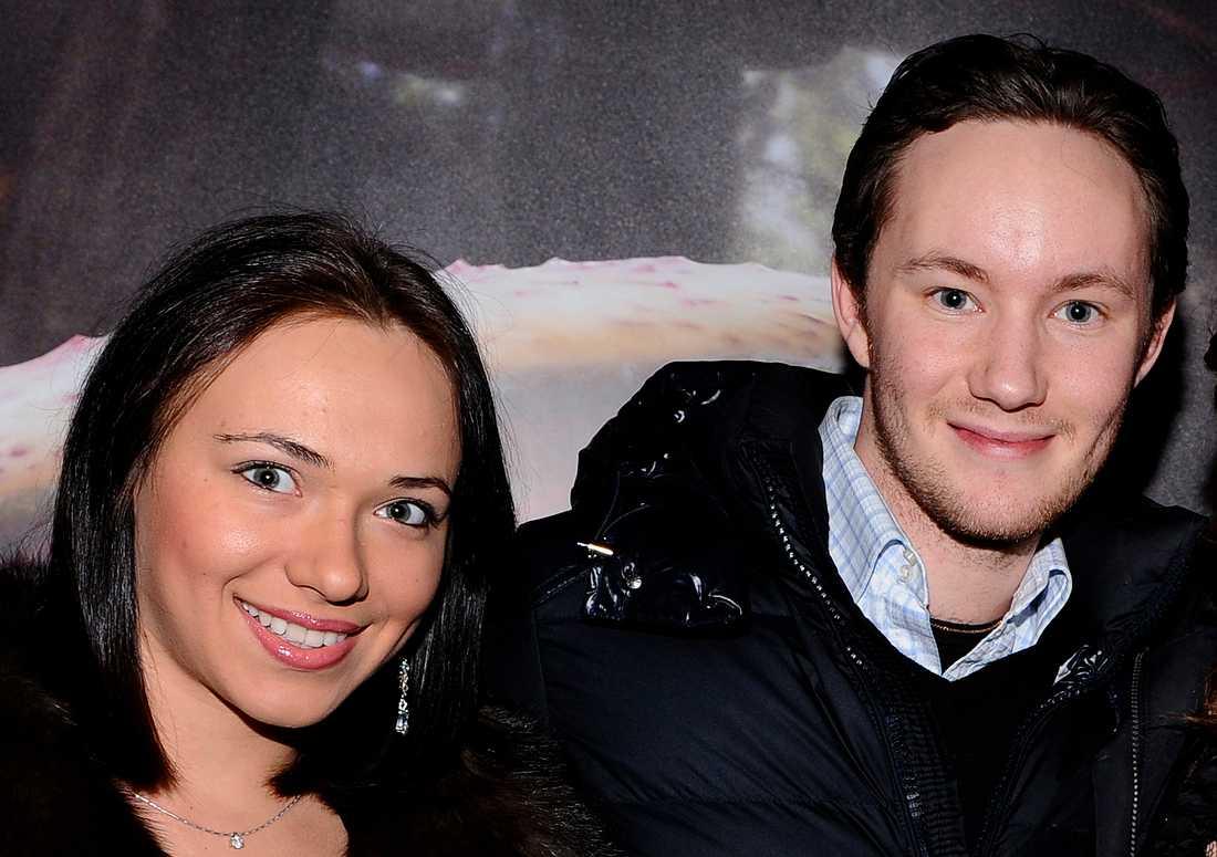 Jonathan Näslund och Oksana Spichak.