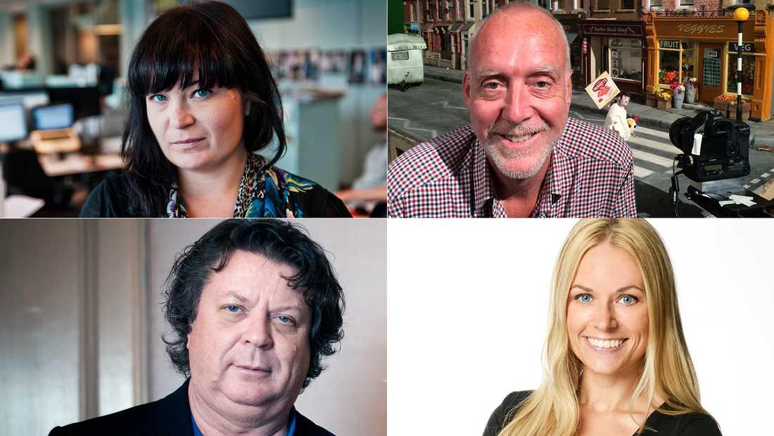 Sandra Wejbro, Jens Peterson, Jan-Olov Andersson och Karolina Fjellborg tippar årets Oscarsvinnare.