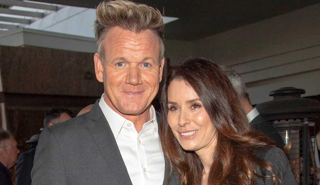Gordon Ramsay och hustrun Tana Ramsay