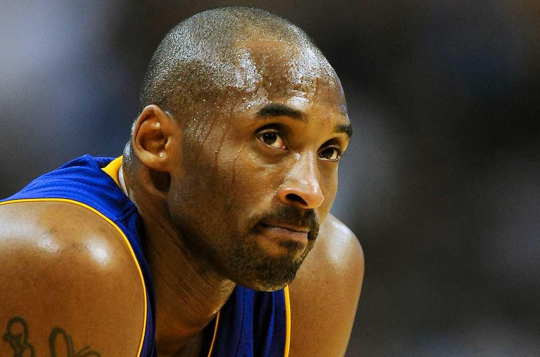 Drygt två månader efter sin död väljs Kobe Bryant in i basketens Hall of fame. Arkivbild.
