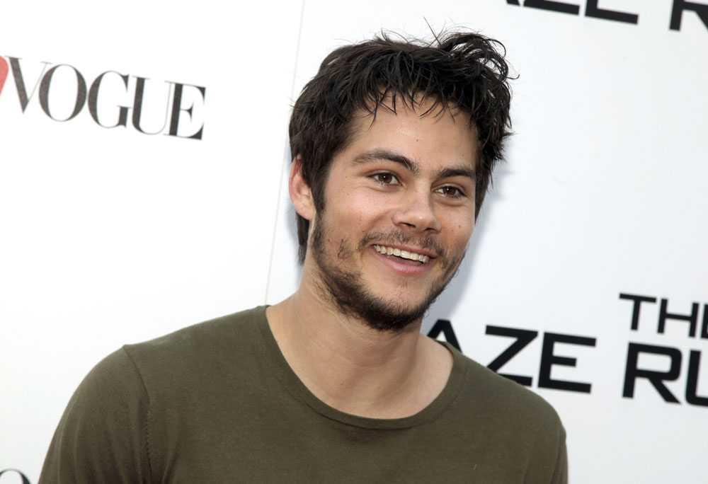 """""""Maze Runner""""-stjärnan Dylan O'Brien."""