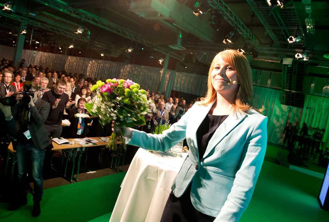 Vid sidan av miljön är jobben den viktigaste frågan för Centern, slog Annie Lööf fast.