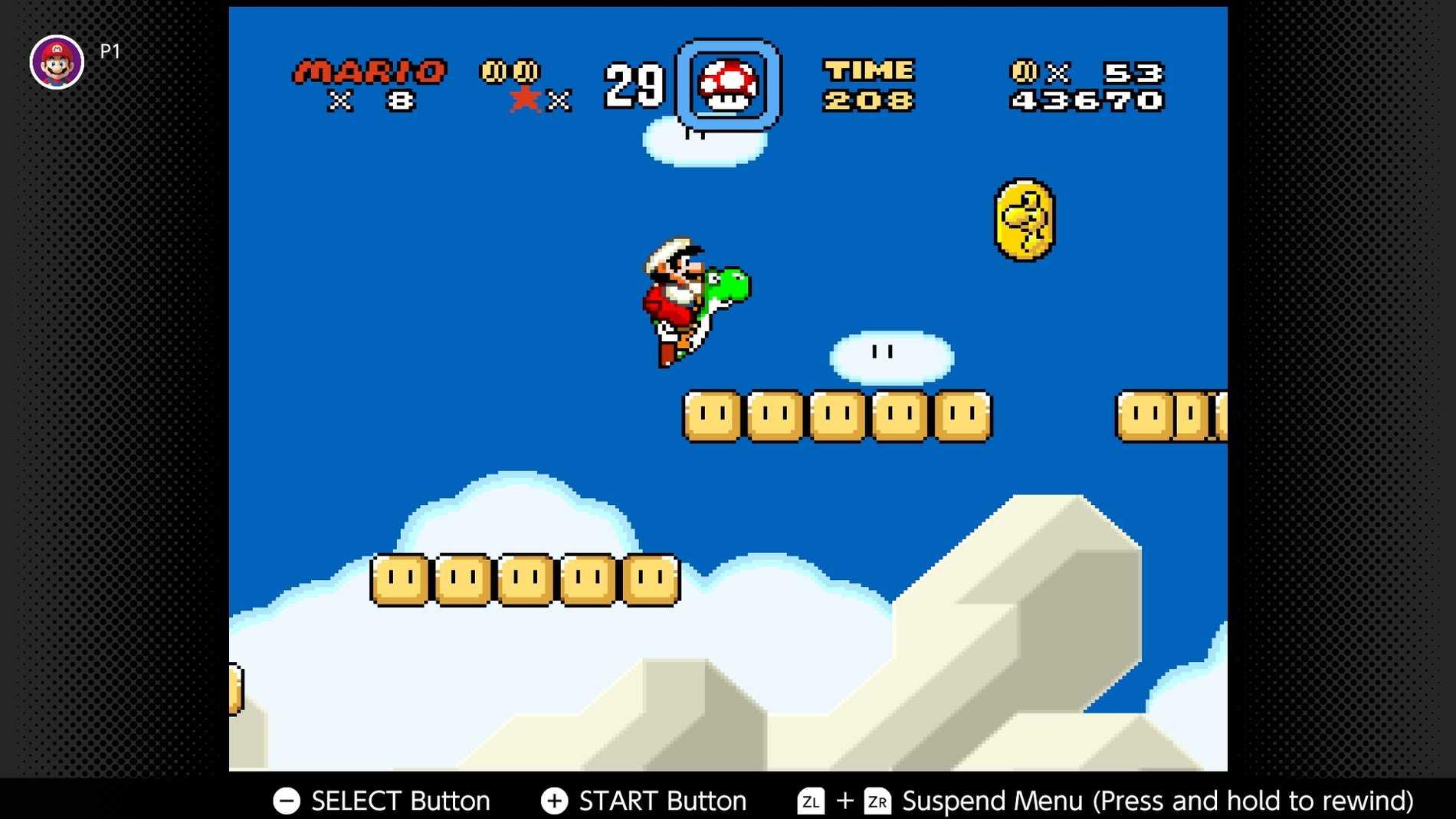 Super Mario till SNES