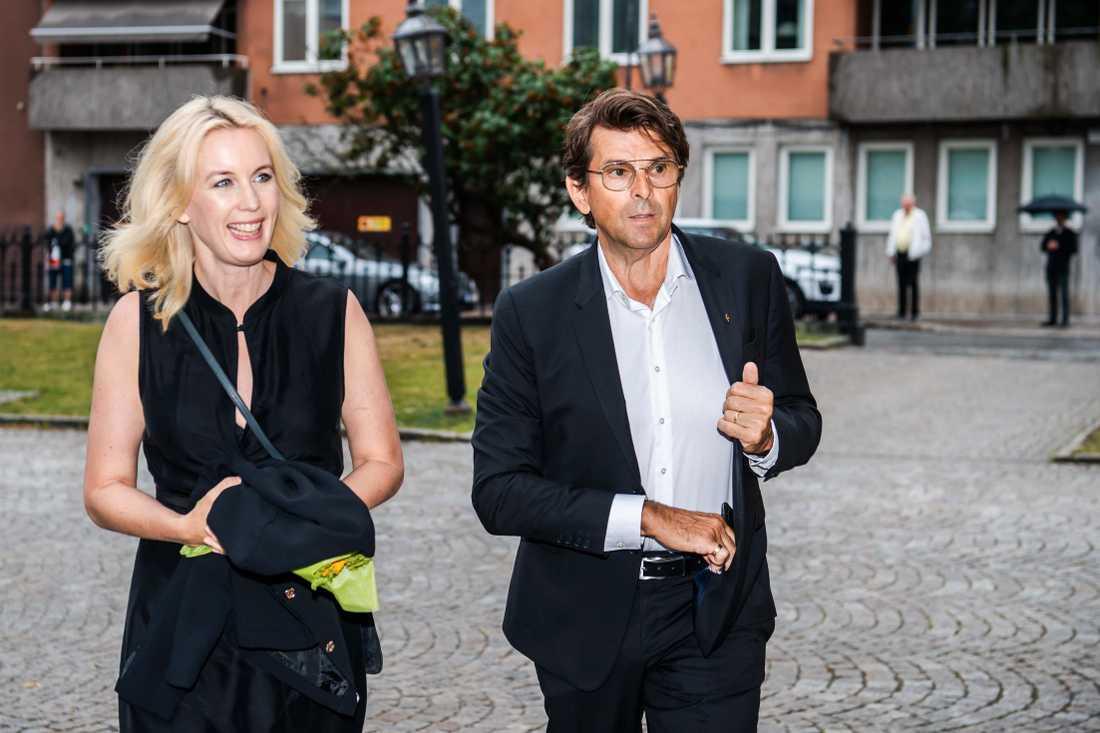 Niklas och Jenny Strömstedt.
