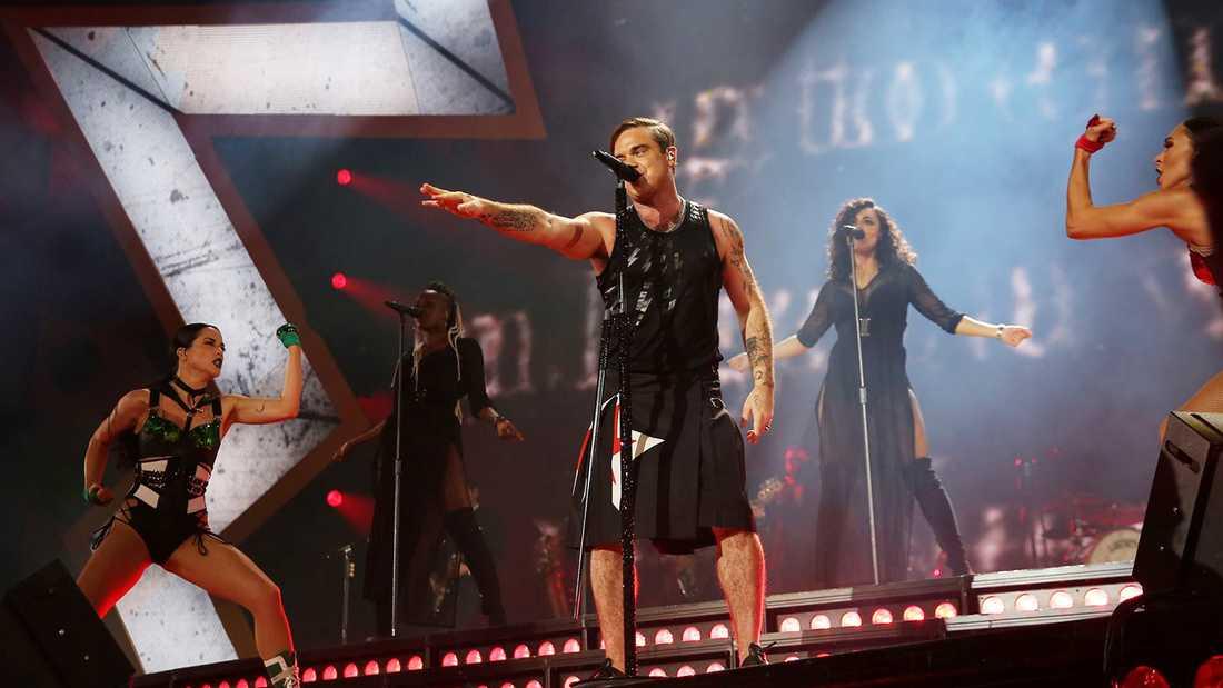 Robbie Williams i Tele2 Arena.
