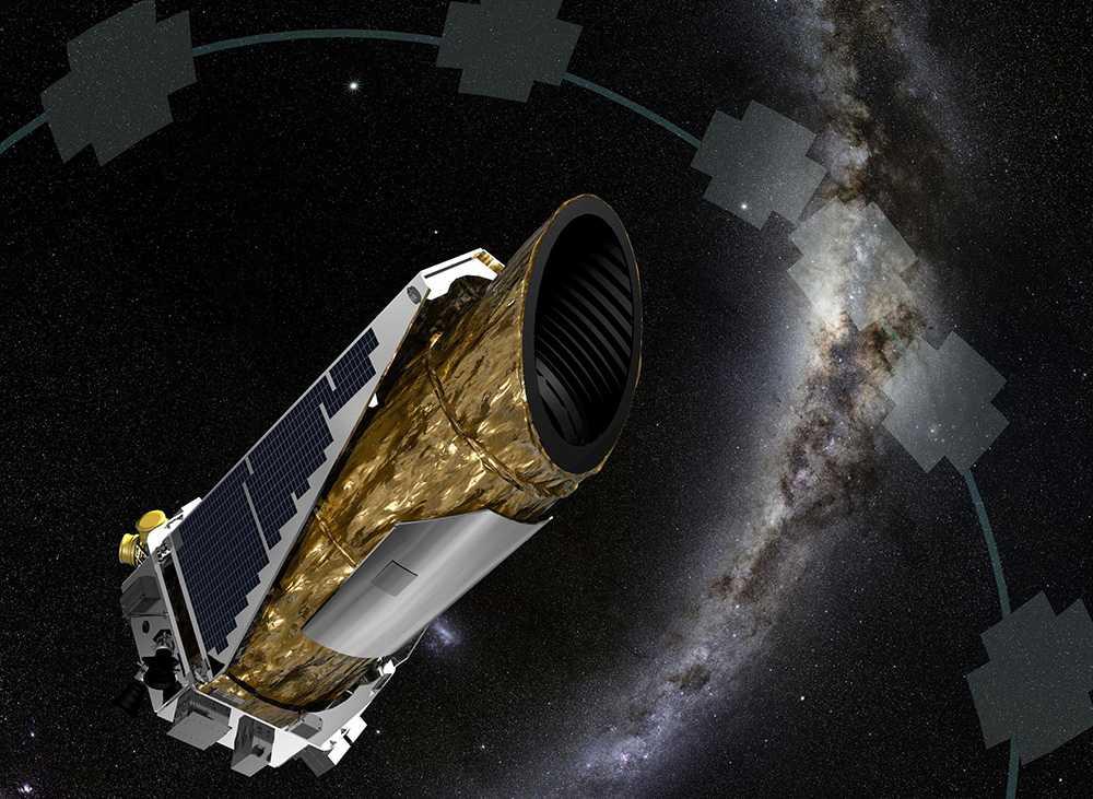 En av Keplerteleskopets uppgifter är att leta efter platser i universum där liv kan existera.