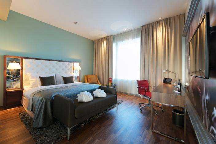 Även Arlandas Clarion Hotel återfinns på listan över Sveriges bästa hotell.