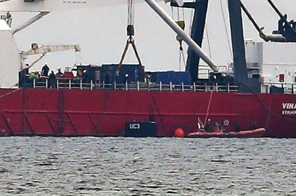 Ubåten lokaliseras.