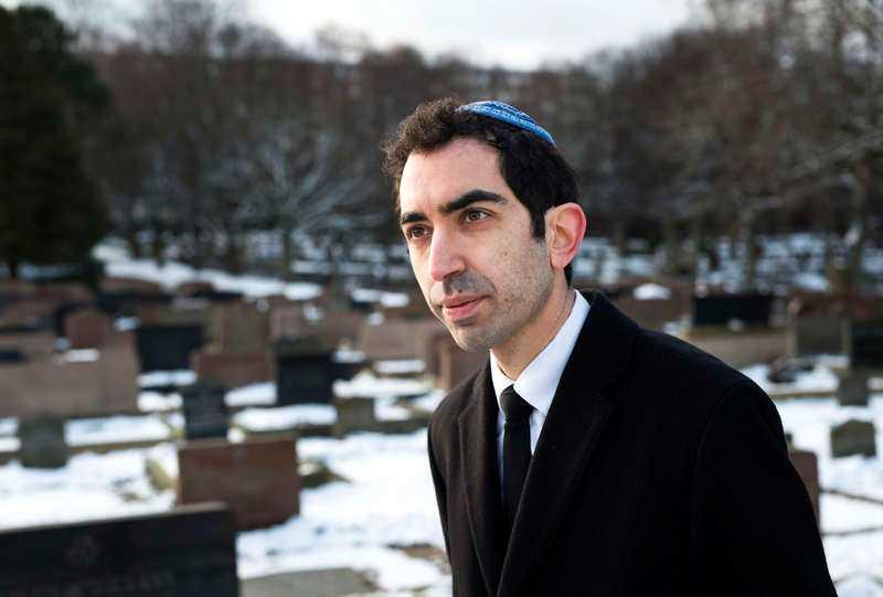 Hillel Lavery-Yi är rabbin i Göteborgs judiska församling.