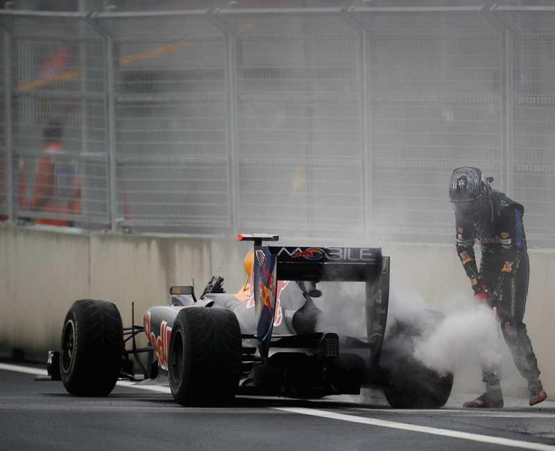 SLÄCKT HOPP Brinner Sebastian Vettels titelchanser upp här?