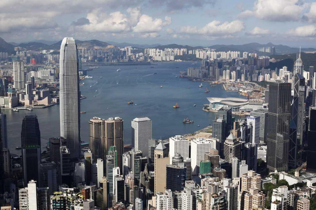 Hongkong. Arkivbild.