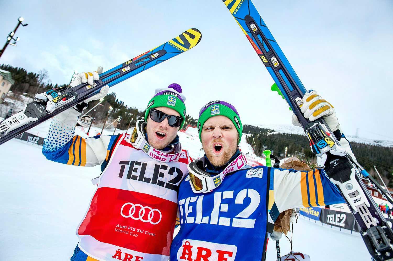 Victor Öhling Norberg (till vänster) och Michael Forslund