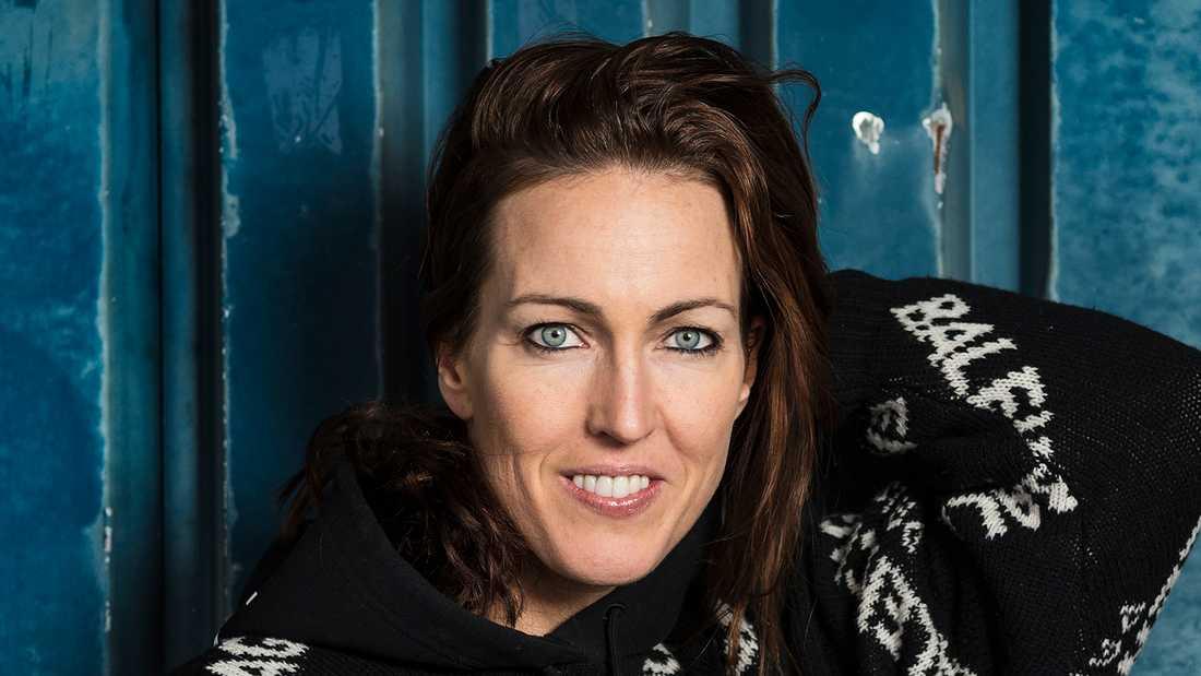 """Therese Alshammar (f d simning och deltagare i årets """"Let's dance"""")"""