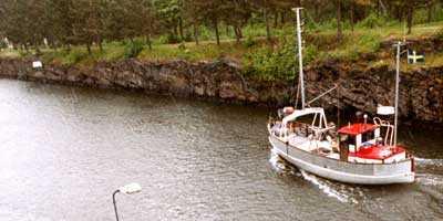Göta kanal lockar flest turister till Östergötland.