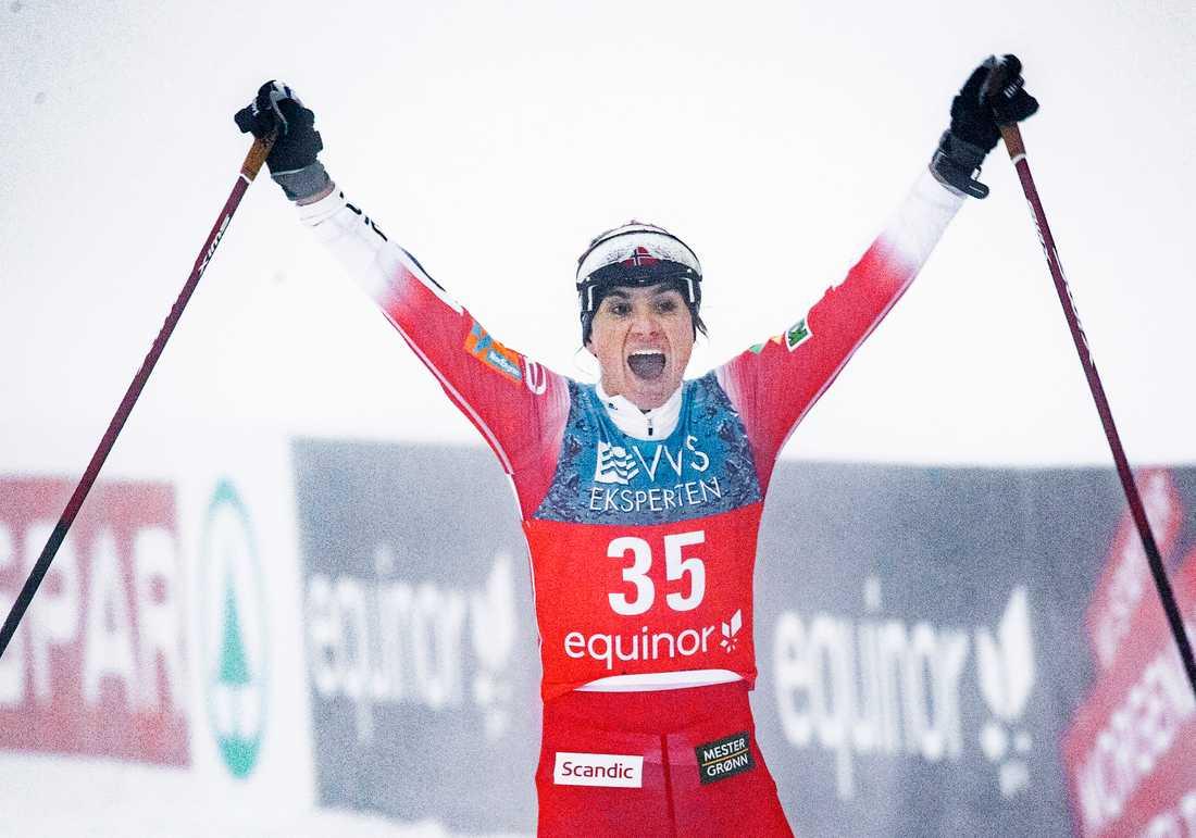 Heidi Weng var tillbaka i tävling.