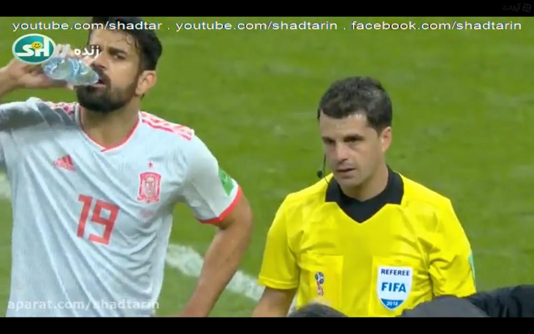 Samma sekvens i iransk tv.