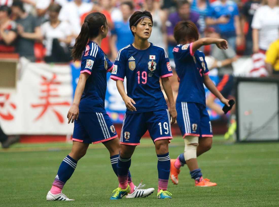 Japan blev överkört av USA i finalen.